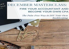 Fire Your Accountant and Become Your Own CPA